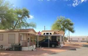 Yearly mobile home rentals are available to Oasis Junction MHP