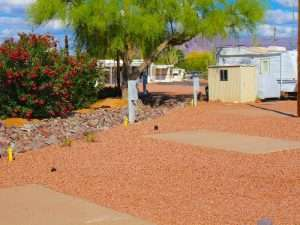 Long Term RV Space Rentals in Apache Junction, AZ