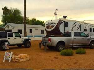 Seasonal 5th Wheel Hookups Apache Junction AZ